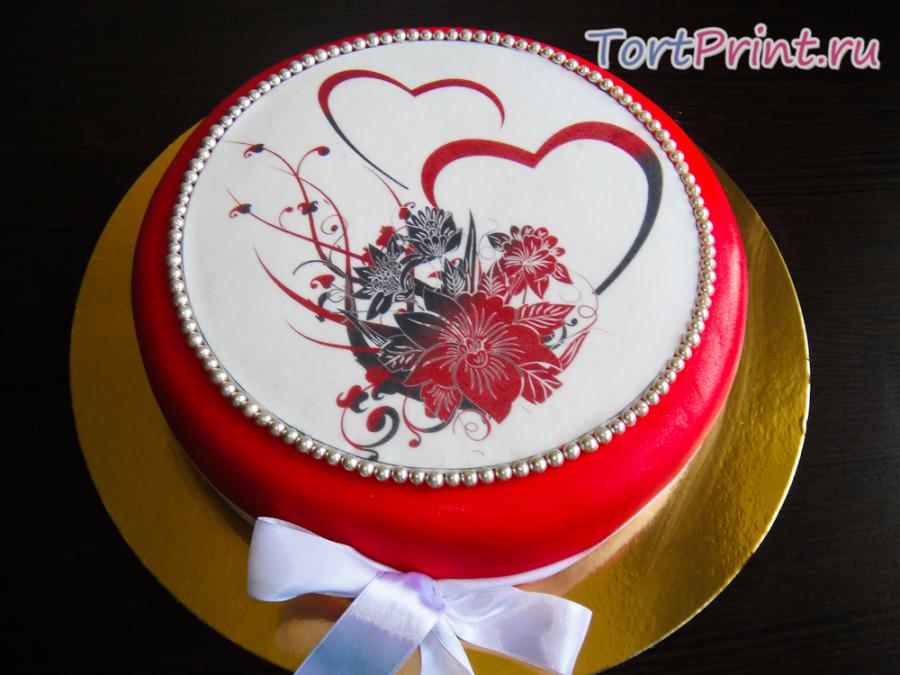 Чем покрыть сахарную картинку для торта